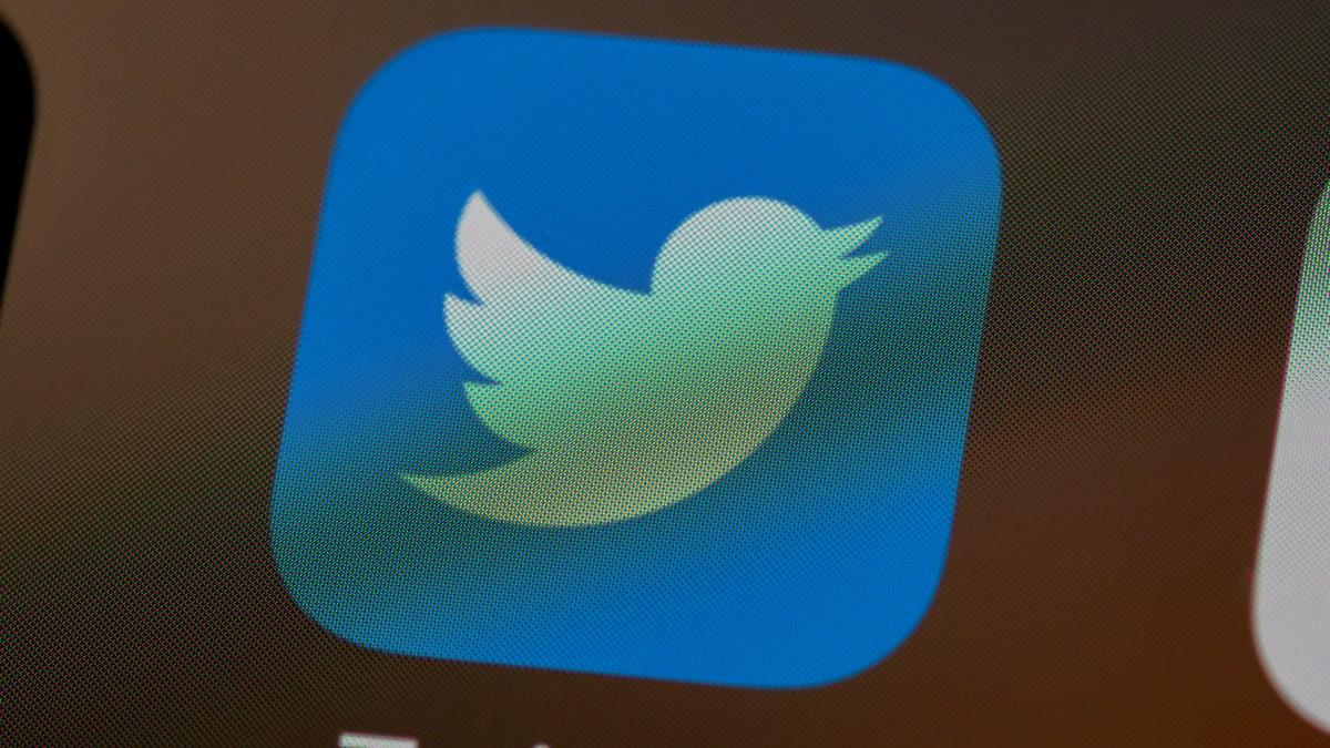 Logo oblíbené sociální sítě zvané Twitter.
